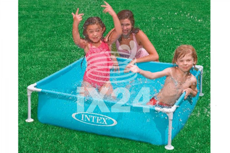 "Каркасный бассейн ""Small Frame Pools"" 122x122x30см Intex 57173"