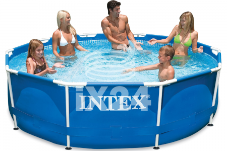 "Каркасный бассейн ""Metal Frame Pools"" 305х76см Intex 56997/28200"