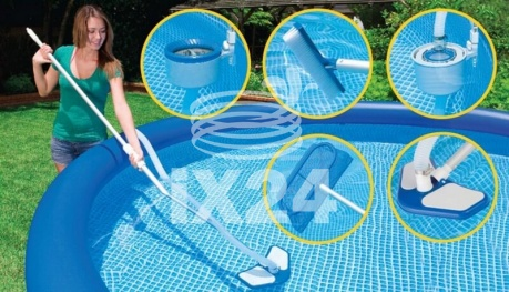 "Каркасный бассейн ""Ultra XTR Frame Pools"" 975х488х132см Intex 26378"