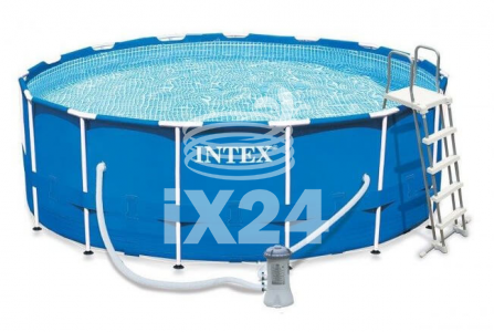 "Каркасный бассейн ""Metal Frame Pools"" 457х122см Intex 54946/28236/28242"