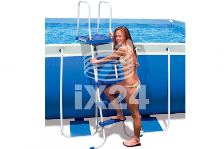 "Каркасный бассейн ""Metal Frame Pools"" 732х132см Intex 54938"