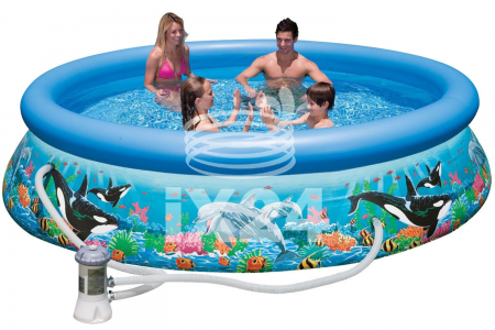 "Надувной бассейн ""Ocean Reef Easy Set"" 366х76см Intex 54906/28136"