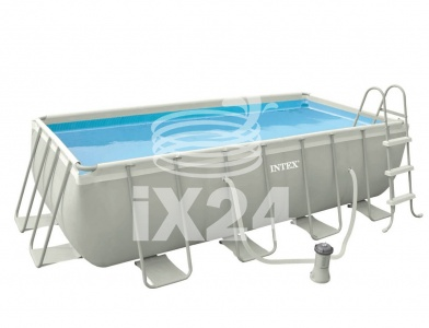 "Каркасный бассейн ""Ultra Frame Pools"" 400x200х100см Intex 54182/28350"