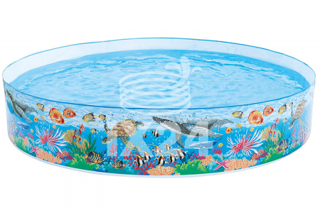 "Детский бассейн ""Underwater Jungle"" 244х46см Intex 58472"