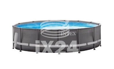 "Каркасный бассейн ""Ultra Frame Pools"" 488х122см Intex 54924/28324"