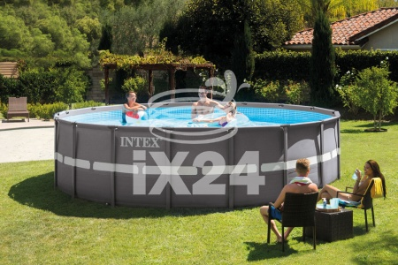 "Каркасный бассейн ""Ultra XTR Frame Pools"" 549х132см Intex 26330"