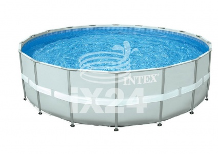 "Каркасный бассейн ""Ultra Frame Pool"" 549x132 Intex 28336"